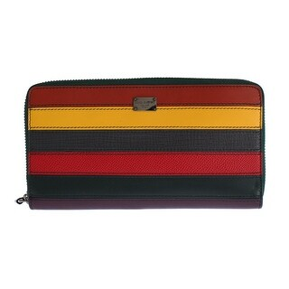 Dolce & Gabbana Dolce & Gabbana Multicolor Leather Continental Wallet - One size