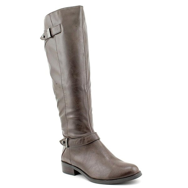 A. Mable Knee High Boots - Dark Brown