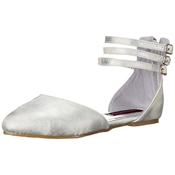 Kensie Girl Girls Dress Shoes Distressed Metallic