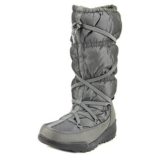 Kamik Luxembourg Women Round Toe Canvas Snow Boot