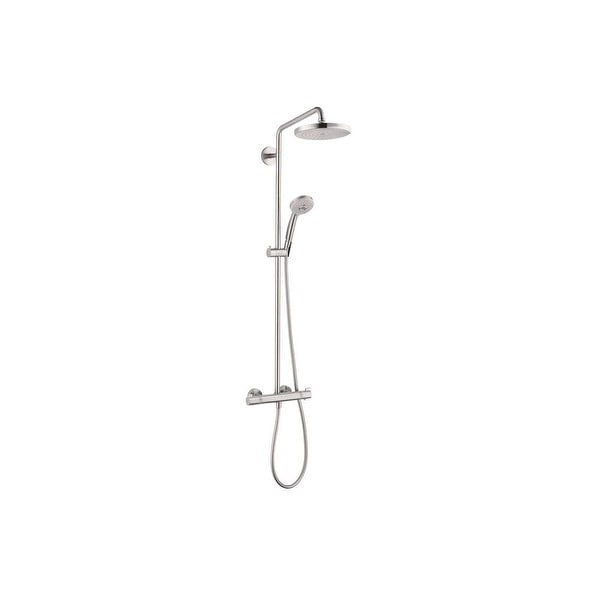 b73189193 Shop Hansgrohe 27185 Croma Shower Trim Package with Multi Function Shower  Head - Less Rough-In Valve - Free Shipping Today - Overstock - 16323401