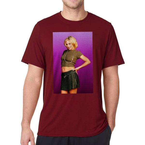 b1d3867b9538d ... Shirts; /; Men's T-Shirts. Married With Children Kelly Bundy Men's  Cardinal Red ...
