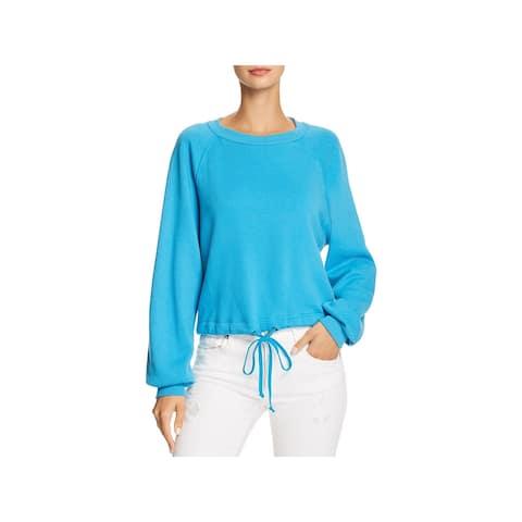 Pam & Gela Womens Sweatshirt Crewneck Soft - L