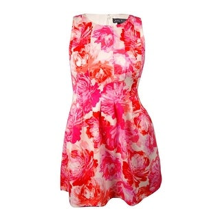 Jessica Howard Woman's Floral A-line Dress - 10