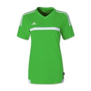 Adidas Women's MLS 15 Match Jersey T-Shirt Rave Green/White - Green