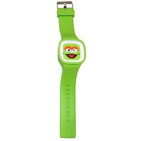 Sesame Street Jelly Watch Oscar Grouch - Green