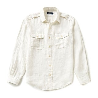 Polo Ralph Lauren NEW White Ivory Mens Size Large L Button Down Shirt