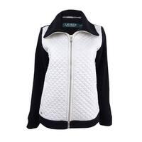 Lauren Ralph Lauren Women's Quilted Bodice Jacket