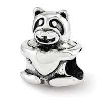 Sterling Silver Reflections Teddy Bear Bead (4mm Diameter Hole)