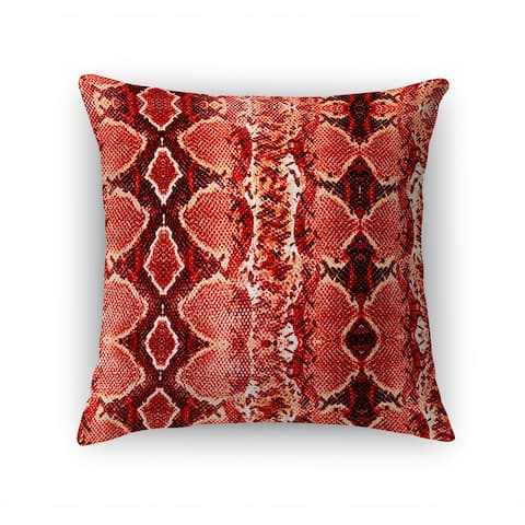 COBRA RED Accent Pillow By Kavka Designs