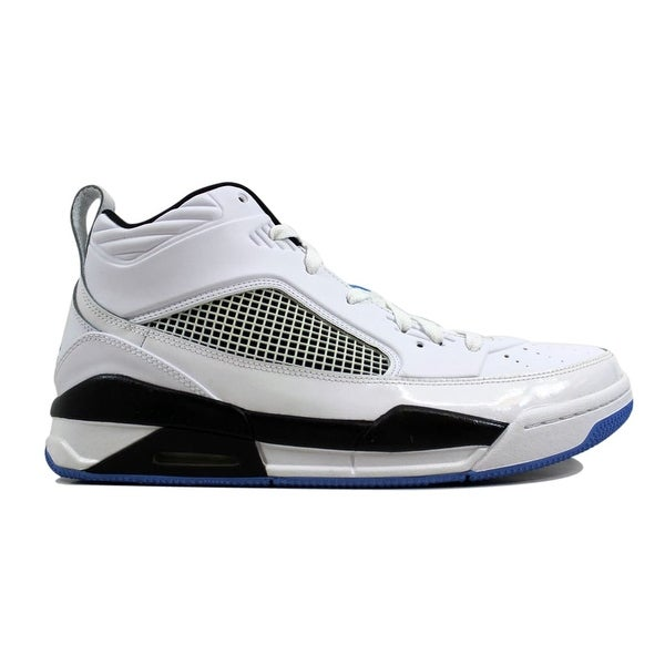 brand new 323c4 da8d4 ... Men s Athletic Shoes. Nike Men  x27 s Air Jordan Flight 9.5  White Legend Blue-Black654262