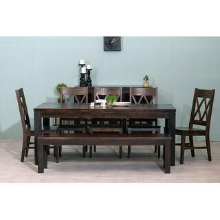"Link to Havana & Dakota Dining Table 60""-76"" Similar Items in Dining Room & Bar Furniture"