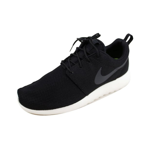 9a28fac5db58 Shop Nike Men s Roshe One Black Anthracite-Sail 511881-010 - On Sale ...