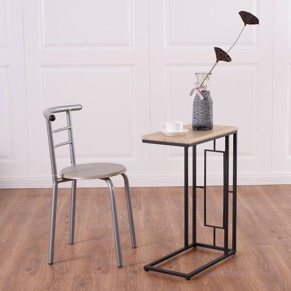 Coffee Tray Sofa Side Table: Shop Costway Modern Coffee Tray Side Sofa End Table