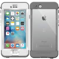 "New Lifeproof Nuud Series Waterproof Case for iPhone 6s Plus 5.5"" - White Grey"