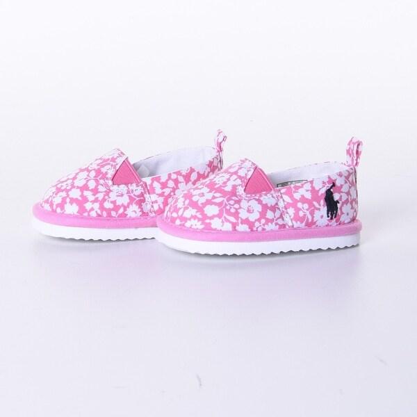 Pink Floral Billie Slip-Ons