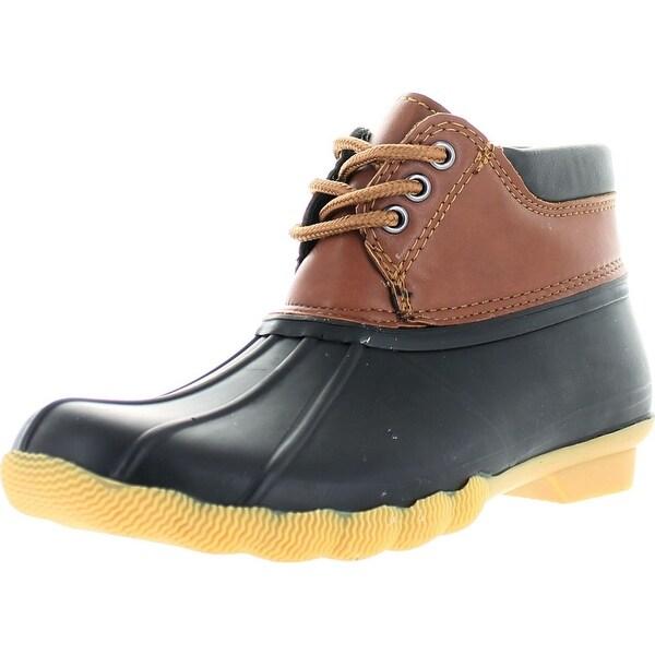 Hunter-05 Women's Rubber Rain Waterproof Skimmers Duck Boots