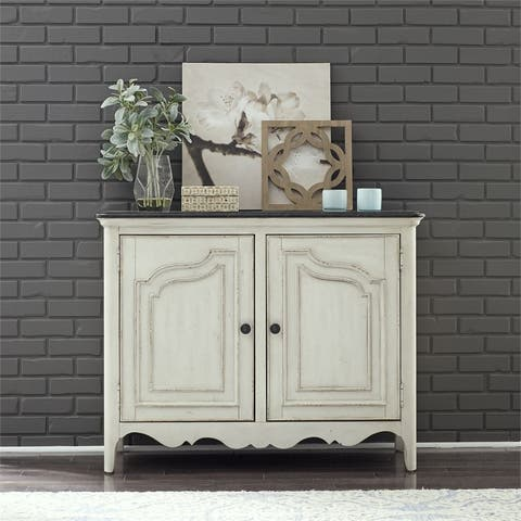 The Gray Barn Flying Hooves Heathered Brownstone with White 2-door Chest