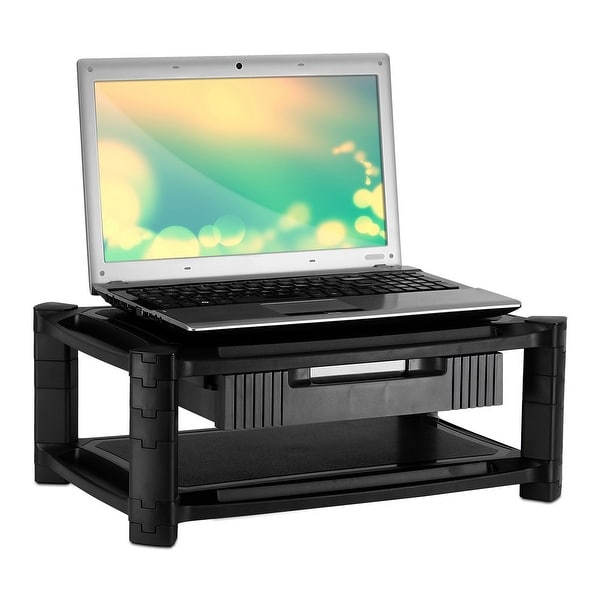 Mount-It! Printer Stand Monitor Riser With Drawer