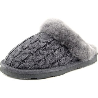 Bearpaw Effie Round Toe Canvas Slipper