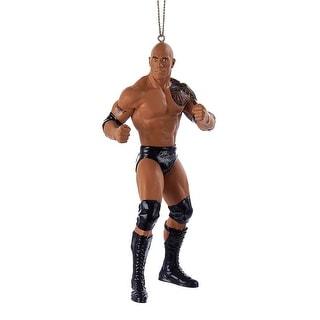 WWE The Rock Christmas Ornament