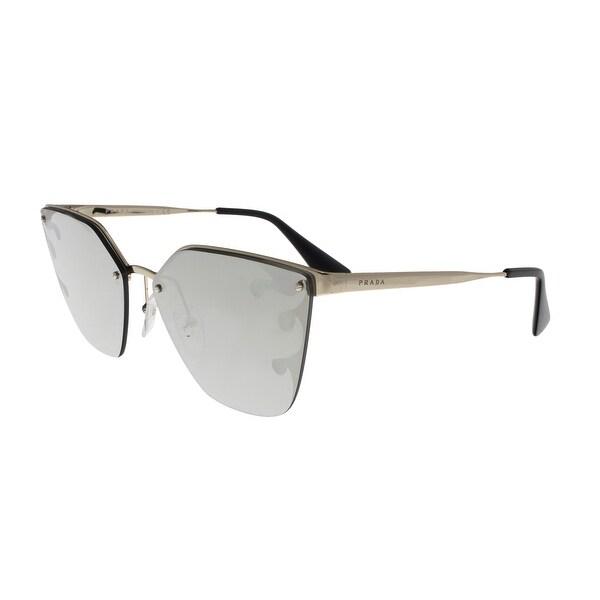 dc13e32470603 Shop Prada PR68TS ZVN435 CATWALK Pale Gold Cateye Sunglasses - 63-15 ...