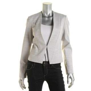 BOSS Hugo Boss Womens Striped Lined Blazer - 4