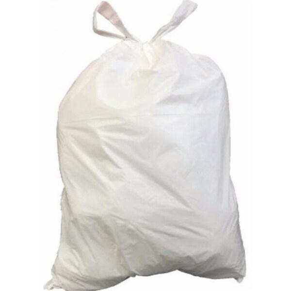 4 Gal 0 7 Mil Drawsting Garbage Bags Trash Can Liners Amp