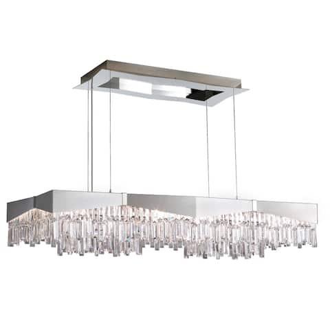 Schonbek Riviera Staless Steel Spectra Crystal Pendant Lightg - One Size
