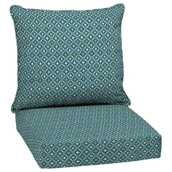 Arden Selections Alana Tile Outdoor Deep Seat Cushion Set - 24 W x 24 D in.. Opens flyout.