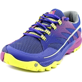 Merrell All Out Charge Women Round Toe Synthetic Blue Running Shoe