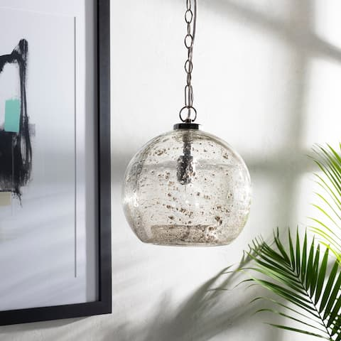 Mena Textured Bohemian 1-light Globe Pendant