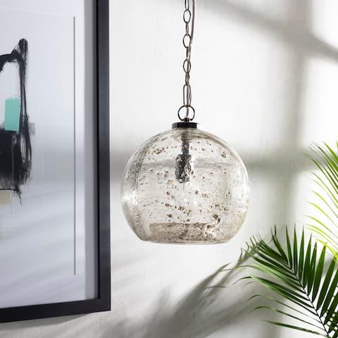 Mena Textured Bohemian 1-light Globe Pendant