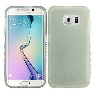 Insten Rugged TPU Rubber Candy Skin Case Cover For Samsung Galaxy S6 Edge