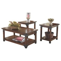 Signature Design by Ashley \'Sandling\' 3-piece Occasional Table Set ...