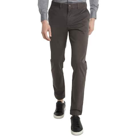 Tommy Hilfiger Men's Pants Gray Size 40x30 Slim Fit Chino Stretch