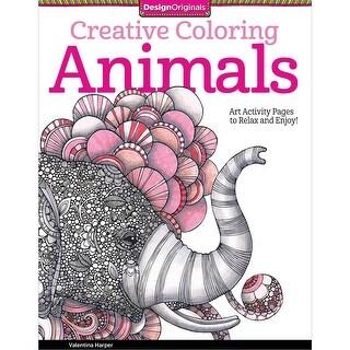 Design Originals-Creative Coloring Animals