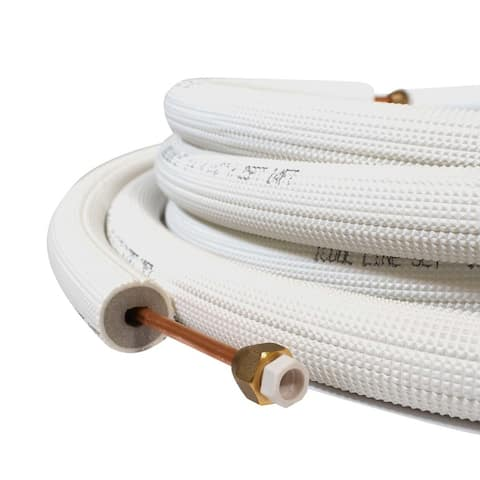 ICOOL Air Conditioner Type D Piece Insulated Copper Tube Flared 164ft