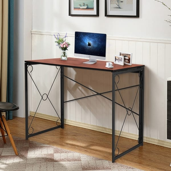 Home Office Desks Simple Study Desks For Bedroom Computer Desk 31 Home Office Desk Home Writing Desk Laptop Table With Storage Bag And Headphone Hook Office Home Kitchen Smkbinaputracihampelas Sch Id