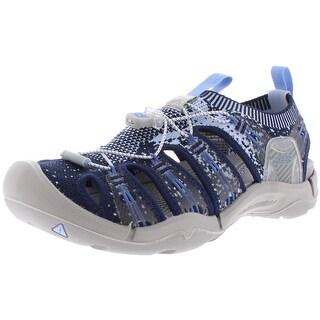 Keen Womens EvoFit One Sport Sandals Knit Casual - Galaxy Blue/Powder Blue