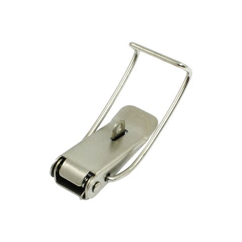 Box Chest Case Spring Loaded Silver Tone Draw Toggle Latch Ynfzq
