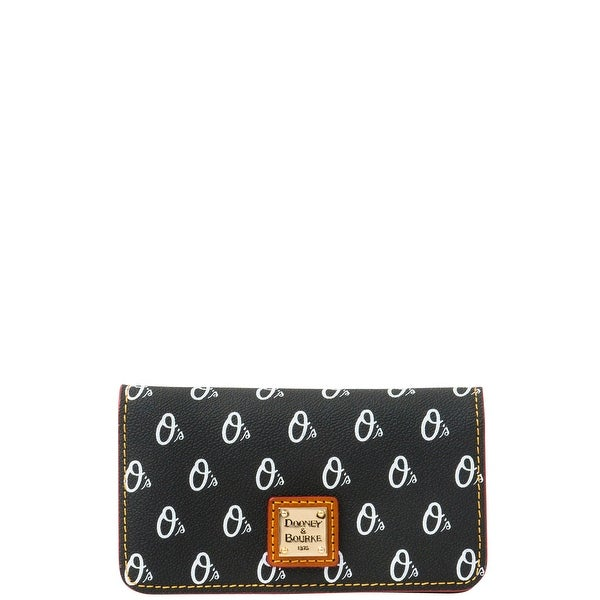 Dooney & Bourke MLB Orioles Large Slim Phone Case (Introduced by Dooney & Bourke at $78 in May 2015) - Black