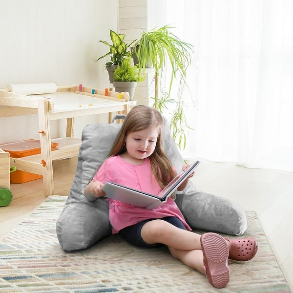 Reading Pillow Medium Bed Rest Pillow with Arms for Kids Teens /& Adults HOT USA