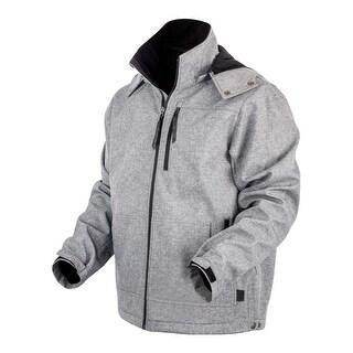 StS Ranchwear Western Jacket Mens Barrier Zip Hood Heather STS5546