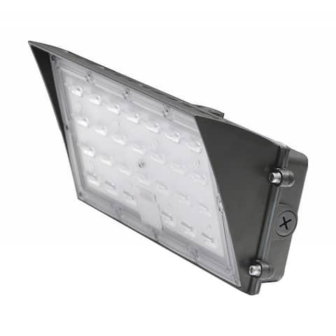 80 Watt Semi Cutoff LED Wall Pack CCT Selectable 9600-10K Lumens DLC - 80 Watt