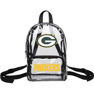 Green Bay Packers Clear Mini Backpack