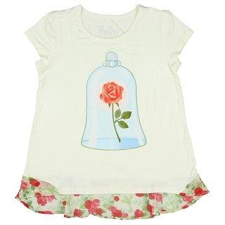 Disney Beauty and the Beast Always Believe Rose Belle Womens Shirt