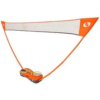 Optima Complete Badminton Set, 4 Racquets, Net, 2 Shuttlecock, Case