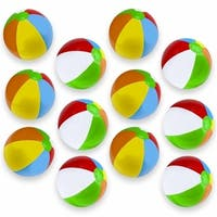 Brybelly Holdings SBEA-101 12 in. Beach Balls - Pack of 12