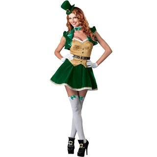 InCharacter Lucky Lass Adult Costume - Green (4 options available)